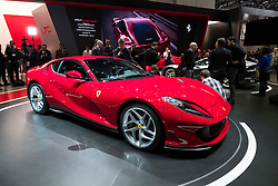 Launch of Ferrari 812 Superfast at 87th Geneva International Motor Show in Geneva Switzerland 2017