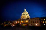 The US Capital  building, Washington DC.