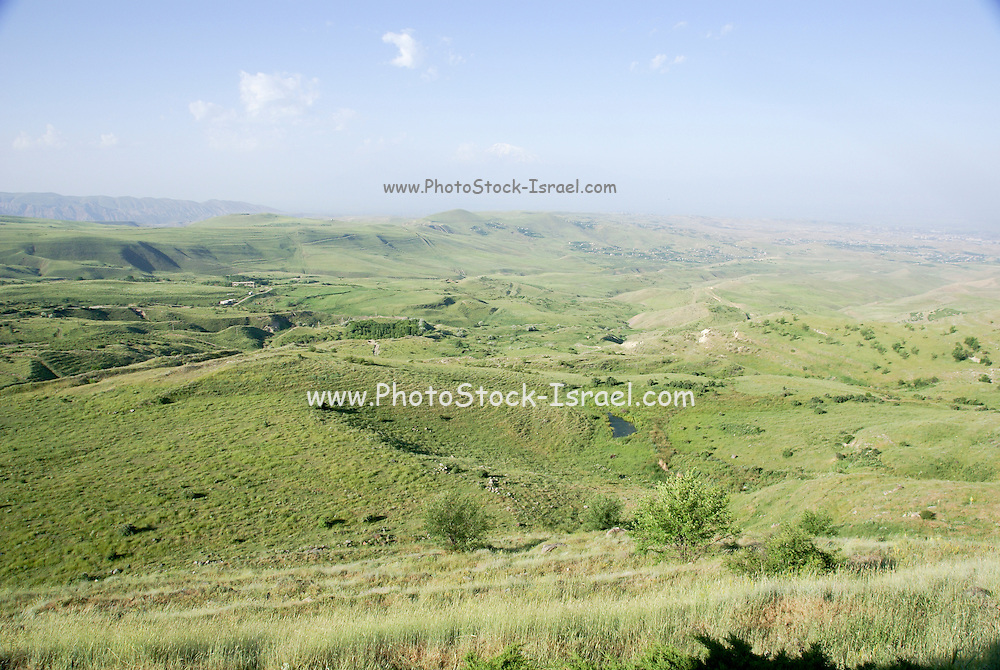 Armenia, The landscape around Garni temple