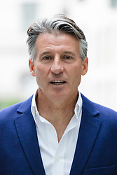 © Licensed to London News Pictures. 23/07/2017. LONDON, UK.  LORD SEBASTIAN COE arrives at BBC Broadcasting House to appear on the Andrew Marr Show.  Photo credit: Vickie Flores/LNP