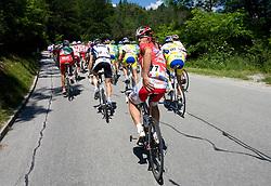 Luca Paolini  (ITA) of Acqua Sapone-Caffe Mocambo at 1st stage of Tour de Slovenie 2009 from Koper (SLO) to Villach (AUT),  229 km, on June 18 2009, in Koper, Slovenia. (Photo by Vid Ponikvar / Sportida)
