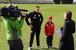 - Photo mandatory by-line: Dougie Allward/JMP - Mobile: 07966 386802 - 01/04/2015 - SPORT - Football - Bristol - Bristol City Training Ground - HR Owen and SAM FM