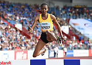 Beatrice Chepkoech (KEN) wins the women's steeplechase in 9:07.92 during the IAAF Continental Cup 2018 at Mestky Stadion in Ostrava, Czech Republic, Sunday, Sept. 9, 2018. (Jiro Mochizuki/Image of Sport)