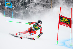 Rasmus Windingstad of Norway competes during 1st run of Men's GiantSlalom race of FIS Alpine Ski World Cup 57th Vitranc Cup 2018, on March 3, 2018 in Kranjska Gora, Slovenia. Photo by Ziga Zupan / Sportida