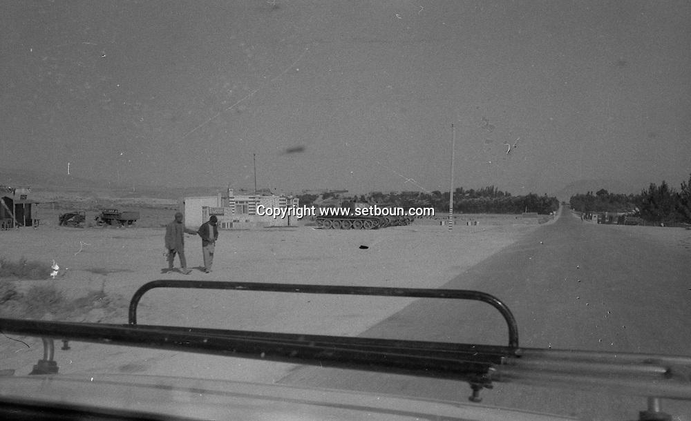 Afghanistan. Russian occupation in september 1979. army, tanks, trucks, russian occupation   Afghanistan  / armee, chars, Occupation russe en Afghanistan    Afghanistan / AFG28617 1