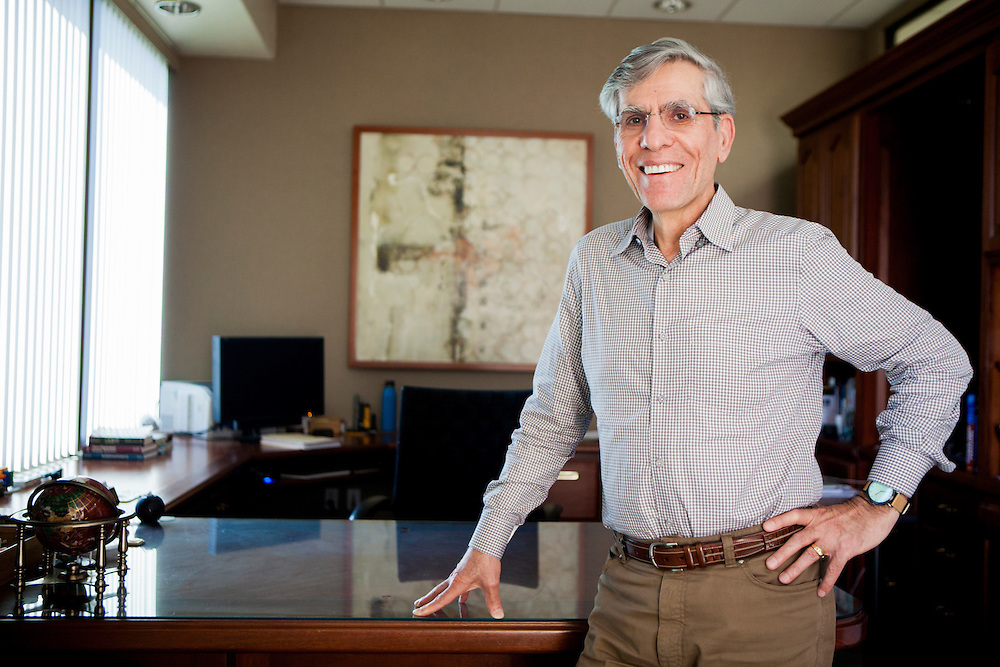 Ostendo Technologies Inc. Chief Executive Officer Dr. Hussein S. El-Ghoroury poses for a portrait in his office in Carlsbad, California, U.S. on Thursday May 29, 2014. CREDIT: Sam Hodgson for The Wall Street Journal<br /> NEXTINTECH