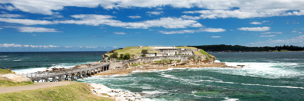 Bare Island Bridge, La Perouse of Sydney in Panorama