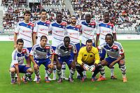 FOOTBALL - FRIENDLY GAMES 2012/2013 - OLYMPIQUE LYONNAIS v ATHLETIC BILBAO - 13/07/2011 - PHOTO EDDY LEMAISTRE / DPPI - YOANN GOURCUFF, MAXIME GONALONS, ALY CISSOKHO, LISANDRO LOPEZ, MOHAMED YATTARA, GUEIDA FOFANA<br /> ENZO REALE, JEREMY PIED, MAHAMADOU DABO, REMY VERCOUTRE, BAKARY KONE