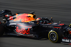 February 19, 2019 - Barcelona, Catalonia, Spain - French driver Pierre Gasly of Austrian Anglo team Aston Martin Red Bull Racing driving his single-seater RB15 during Barcelona winter test in Catalunya Circuit in Montmelo, Spain  (Credit Image: © Andrea Diodato/NurPhoto via ZUMA Press)