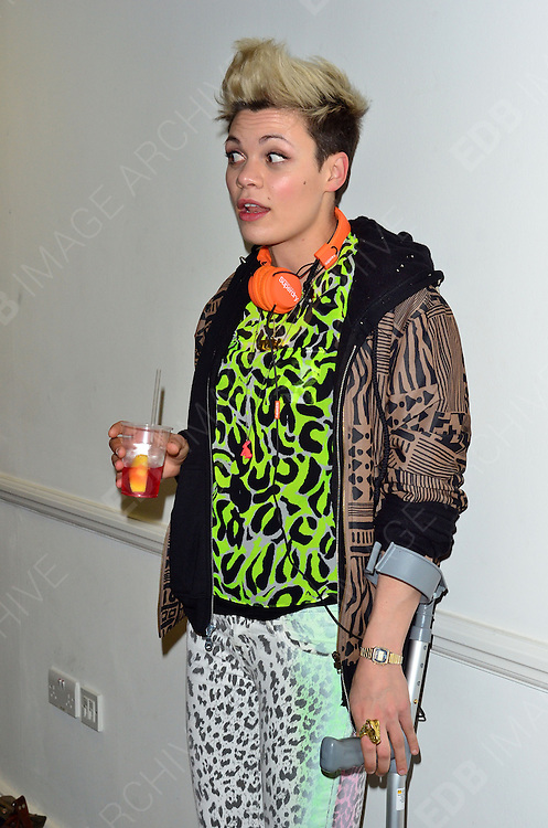 24.APRIL.2012. LONDON<br /> <br /> &quot;MY FLASH TRASH &amp; OXYGEN BOUTIQUE&quot; PARTY, LONDON<br /> <br /> BYLINE: EDBIMAGEARCHIVE.COM<br /> <br /> *THIS IMAGE IS STRICTLY FOR UK NEWSPAPERS AND MAGAZINES ONLY*<br /> *FOR WORLD WIDE SALES AND WEB USE PLEASE CONTACT EDBIMAGEARCHIVE - 0208 954 5968*