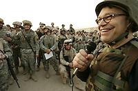 SMA USO troupe at Abu Ghraib