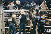 Atmosphere at The Professional Bull Rider's Built Ford Tough Invitational Draft held at Madison Square Garden on January 9, 2009 in New York City..The format of the Built Ford Tough Invitational consists of four rounds of competition with the first three rounds featuring the top 45 qualified riders randomly matched against the sport's rankest bulls.