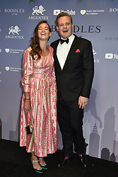 Molly and Harry Adams at the Boodles Boxing Ball, in association with Argentex and YouTube in Support of Hope and Homes for Children at Old Billingsgate London, United Kingdom - 7 Jun 2019 Photo Dominic O'Neil
