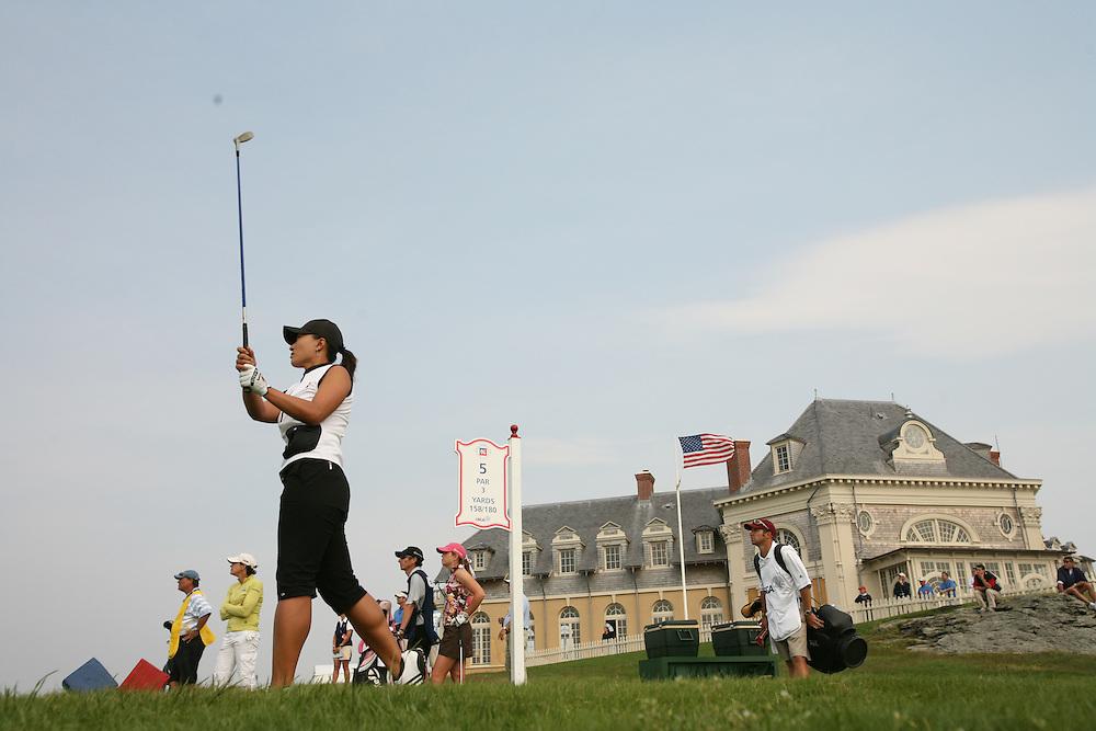 Se Ri Pak.2006 US Women's Open Championship.Third Round.Newport Country Club.Newport, Rhode Island.Sunday, July 2 2006.07-02-06.Photograph by Darren Carroll. .