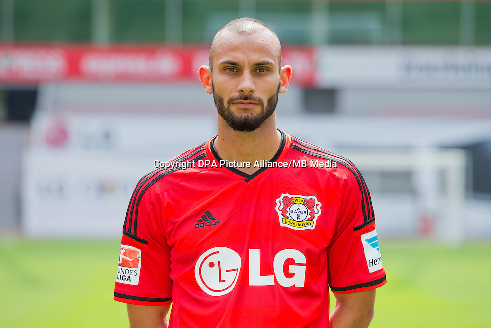 German Soccer Bundesliga - Photocall Bayer 04 Leverkusen on August 4th 2014: Oemer Toprak.