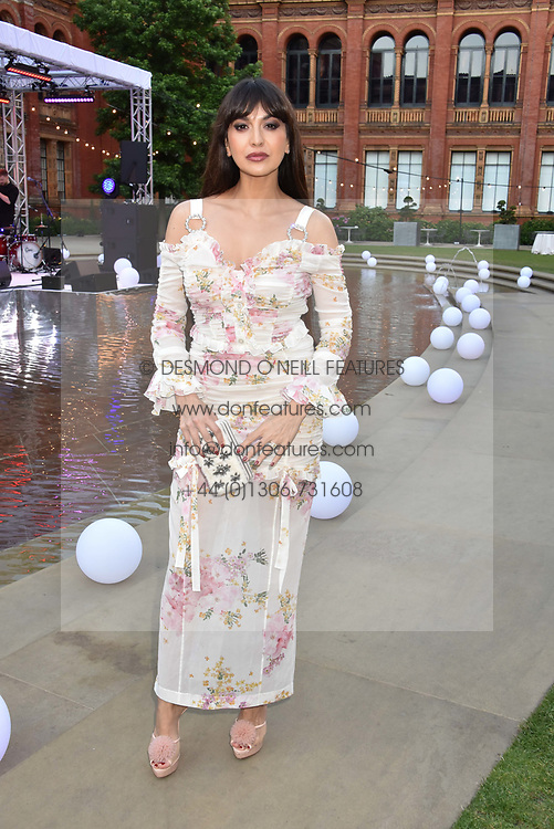 Zara Martin at the Victoria & Albert Museum's Summer Party in partnership with Harrods at The V&A Museum, Exhibition Road, London, England. 20 June 2018.