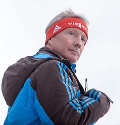 04.01.2015, Bergisel Schanze, Innsbruck, AUT, FIS Ski Sprung Weltcup, 63. Vierschanzentournee, Innsbruck, 1. Wertungssprung, im Bild FIS Ski Sprung Renndirektor Walter Hofer // FIS Ski Jumping Race Director Walter Hofer soars trought the air during his first competition jump for the 63rd Four Hills Tournament of FIS Ski Jumping World Cup at the Bergisel Schanze in Innsbruck, Austria on 2015/01/04. EXPA Pictures © 2015, PhotoCredit: EXPA/ JFK