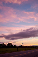 Pastel Sky at Dawn. 8 of 13 Images taken with a Leica X2 camera and 24 mm f/2.8 lens (ISO 125, 24 mm, f/2.8, 1/30 sec). Raw images processed with Capture One Pro and the panorama generated using AutoPano Giga Pro.