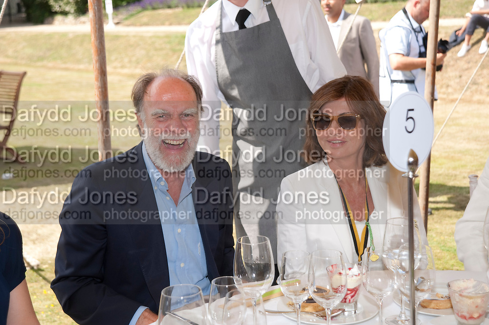 VISCOUNT COWDRAY; PILAR BOXFORD, Cartier Style et Luxe at the Goodwood Festival of Speed. Goodwood House. 5 July 2009.