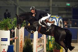 Dubbeldam Jeroen - Oklund (129)<br /> KWPN Hengstenkeuring 2007<br /> Photo © Hippo Foto