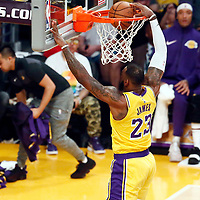 10-25 DENVER NUGGETS AT LA LAKERS