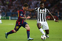 Lionel Messi, Paul Pogba <br /> Berlino 06-06-2015 OlympiaStadion  <br /> Juventus Barcelona - Juventus Barcellona <br /> Finale Final Champions League 2014/2015 <br /> Foto Schuler/Eibner-Pressefoto/Expa/Insidefoto