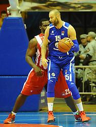 CRVENA ZVEZDA vs TAJFUN<br /> Beograd, 08.10.2015.<br /> foto: Nebojsa Parausic<br /> <br /> Kosarka, Crvena zvezda, Tajfun, Jadranska ABA liga, Emir Zimic