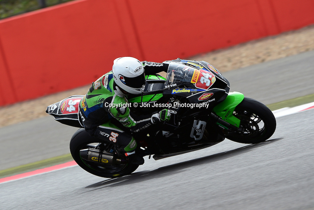 #34 Kevin Van Leuven G&S Racing Kawasaki Pirelli National Superstock 1000 Championship in association with Black Horse