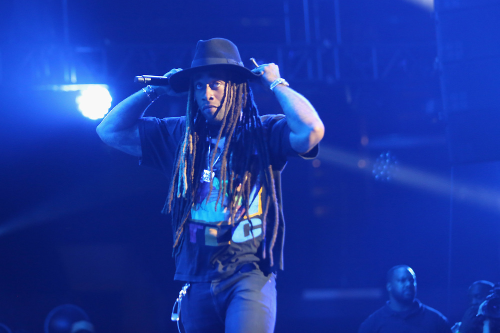 Ty Dolla Sign performs at the 2017 BET Experience at The Staples Center on Thursday June 22, 2017, in Los Angeles. (Photo by Los Angeles/Invision/AP)