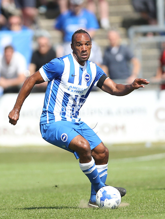 Chris O'Grady during the Pre-Season Friendly match between Lewes FC and Brighton and Hove Albion at the Dripping Pan, Lewes, United Kingdom on 18 July 2015.