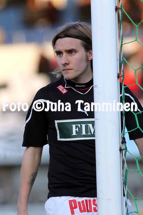 19.04.2010, Tehtaankentt?, Valkeakoski..Veikkausliiga 2010, FC Haka - FC TPS Turku..Jani Virtanen - TPS.©Juha Tamminen.