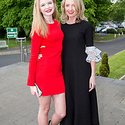 11.05. 2017.                                                 <br /> Over 20 leading Irish and international fashion media and influencers converged on Limerick for 24 hours on, Thursday, 11th May for a showcase of Limerick's fashion industry, culminating with Limerick School of Art & Design, LIT, presenting the LSAD 360° Fashion Show, sponsored by AIB.<br /> Pictured at the event were, Zoe O'Connor and Orla Daffily, Limerick Tagged. Picture: Alan Place