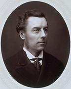 Joseph Chamberlain (1836-1914) British Liberal statesman. Photograph published c1885. Woodburytype