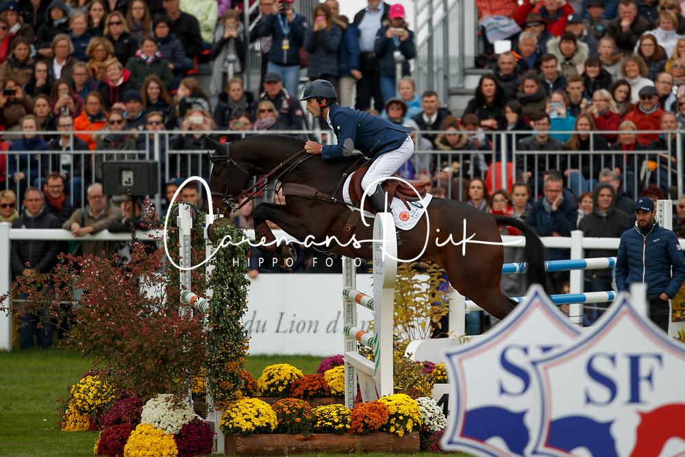 Nicolas Astier, FRA, Alertamalib'Or<br /> Mondial du Lion - Le Lion d'Angers 2017<br /> &copy; Dirk Caremans<br /> 22/10/2017