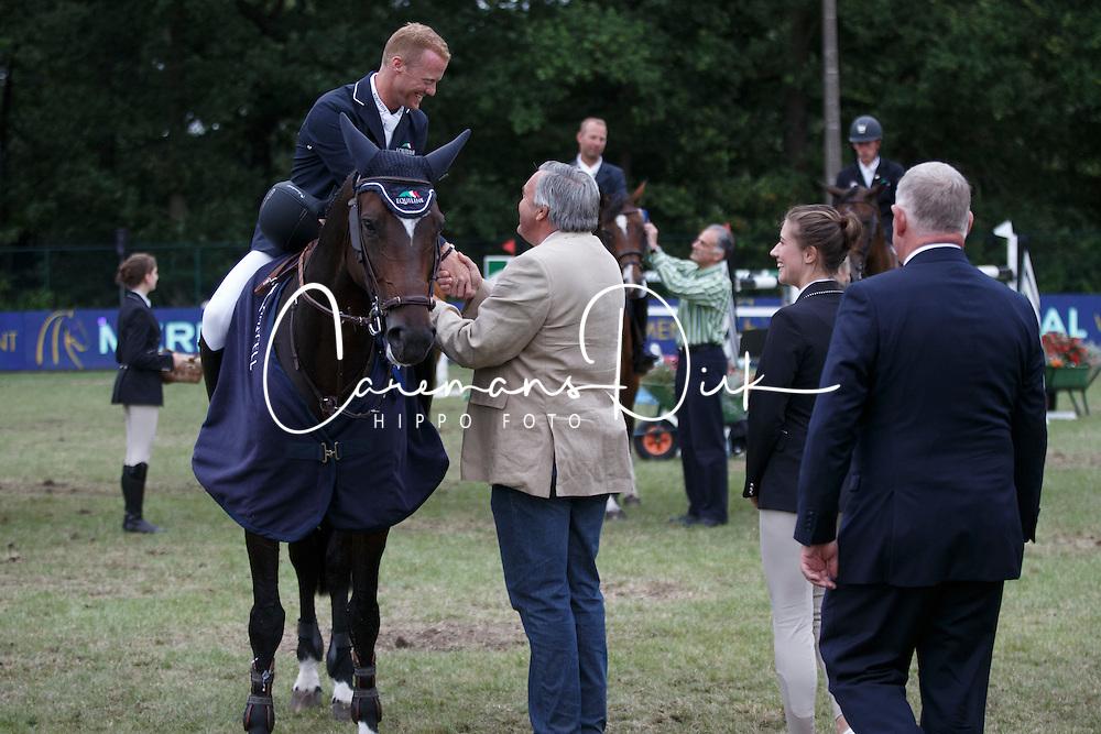 Bruynseels Niels, (BEL), Cas de Liberte <br /> Winner of the Grand Prix Meritt Capital<br /> Jumping Kapellen 2015<br /> &copy; Hippo Foto - Dirk Caremans<br /> 12/07/15