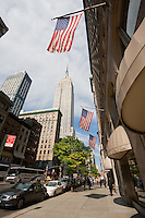 5th avenue in New York City October 2008