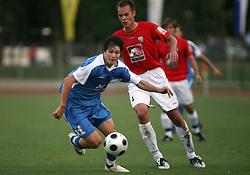 Etien Velikonja (11) of Gorica  at 3rd Round of PrvaLiga Telekom Slovenije between NK HIT Gorica vs NK Rudar Velenje, on August 1, 2008, in Nova Gorica, Slovenija. Rudar won the match 2:0. (Photo by Vid Ponikvar / Sportal Images)