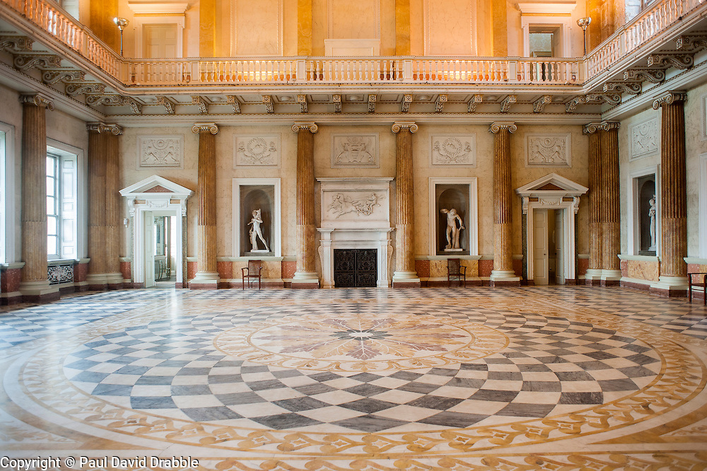 Wentworth Woodhouse - Marble Saloon<br />