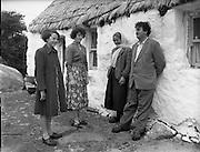 Brendan Behan in Connemara, Ireland. 10/06/1959