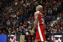 November 9, 2017 - Assago, Milan, Italy - Jordan Theodore (#25 AX Armani Exchange Milan) during a game of Turkish Airlines EuroLeague basketball between  AX Armani Exchange Milan vs Zalgiris Kaunas at Mediolanum Forum on November 9, 2017 in Milan, Italy. (Credit Image: © Roberto Finizio/NurPhoto via ZUMA Press)