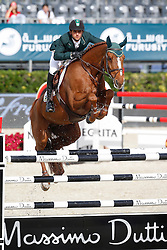 Modolo Zanotelli Marlon (BRA) - Clouwni<br /> Furusiyya FEI Nations Cup Jumping Final Round 1<br /> CSIO Barcelona 2013<br /> © Dirk Caremans