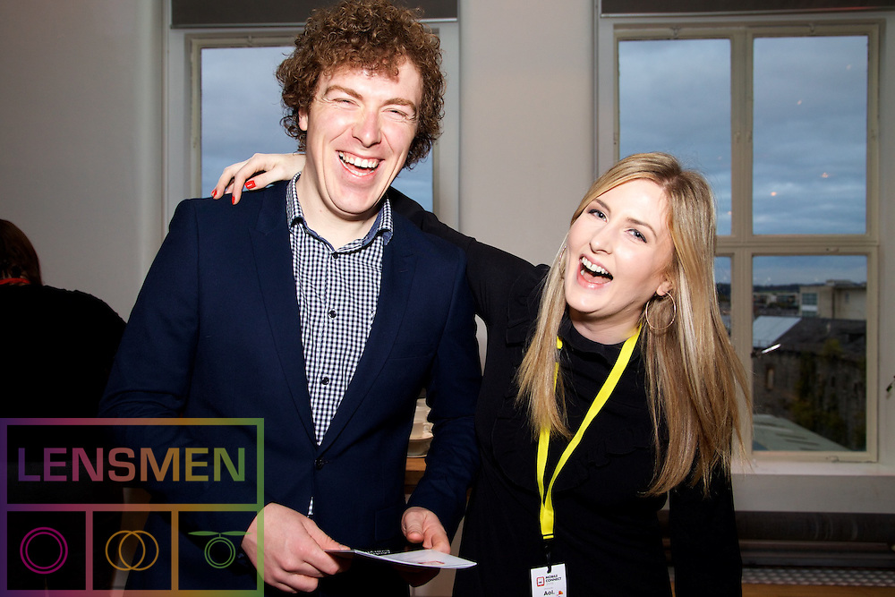 Colm Sherwin,Mediavest and Maria Flood, <br /> Independent News & Media.