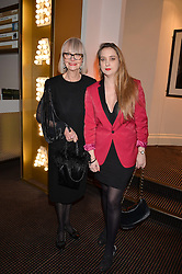 Left to right, Jan de Villeneuve and Daisy De Villeneuve at the Debrett's 500 Party recognising Britain's 500 most influential people, held at BAFTA, 195 Piccadilly, London England. 23 January 2017.