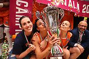 Jolene Nancy Anderson, Marzia Tagliamento, Kathrin Ress<br /> Passalacqua Ragusa vs Famila Schio<br /> Lega Basket Femminile 2017/2018<br /> Schio, 13/05/2018<br /> Foto E. Castoria/Ag. Ciamillo-Castoria