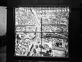 1962 - Illuminated map at Ulster Bank, College Green