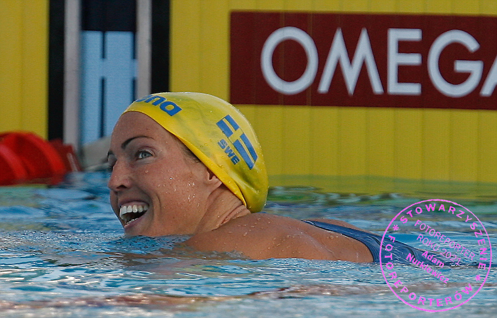 ROME 31/07/2009.13th Fina World Championships.Women's 50m Butterfly - Semifinal.Therese Alshammar of Sweden ..photo: Piotr Hawalej / WROFOTO