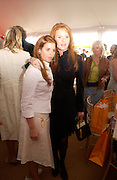 The Duchess of York and Princess Beatrice, , Veuve Clicquot gold Cup, Polo at cowdray, 18 July 2004. SUPPLIED FOR ONE-TIME USE ONLY> DO NOT ARCHIVE. © Copyright Photograph by Dafydd Jones 66 Stockwell Park Rd. London SW9 0DA Tel 020 7733 0108 www.dafjones.com