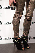 """Leigh Lezark in Stradivarius store for the collection """"Fiesta'12 party  in Madrid"""