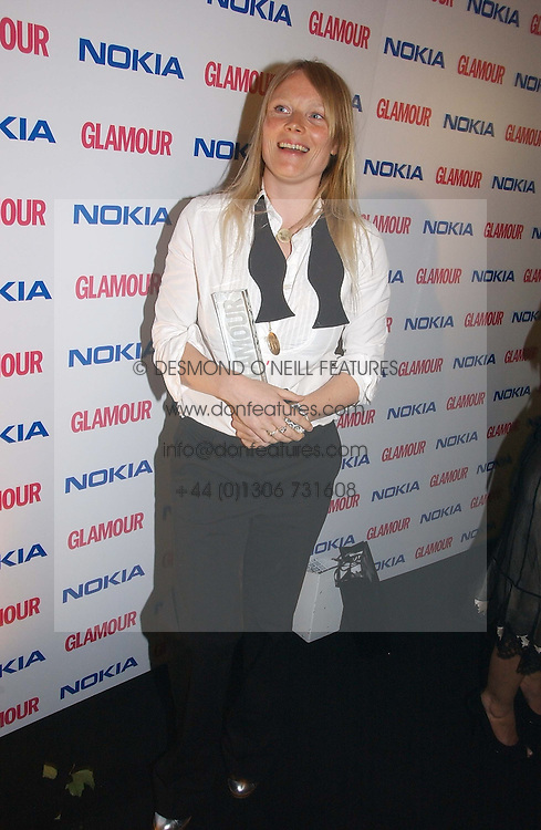 LUELLA BARTLEY at the 2006 Glamour Women of the Year Awards 2006 held in Berkeley Square Gardens, London W1 on 6th June 2006.<br />
