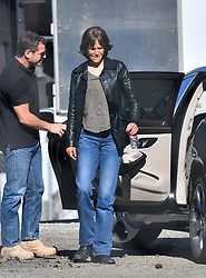 "Nicole Kidman looks absolutely unrecognizable on the set of her new movie ""Destroyer."" The Australian actress was seen donning a wig and make up to give off a much more rough look. 13 Jan 2018 Pictured: Nicole Kidman. Photo credit: Snorlax / MEGA TheMegaAgency.com +1 888 505 6342"